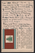 [Andrew Michael Dasburg postcard to Grace Mott Johnson 1]