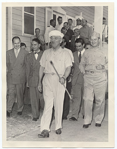 [Harry Truman in Key West, Florida]