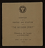 The Modern Ppirit: Exhibition of Painting and Sculpture
