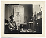 Worden Day in her studio
