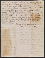 [Lockwood de Forest letter to Mary Garrett page 1]