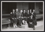 [Margaret de Patta and her husband Eugene Bielawski, with a group of Japanese artists in Kyoto 1]