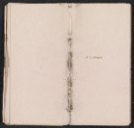 [Ten American painters: the first exhibition, catalogue of the pictures pages 2]