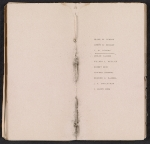 [Ten American painters: the first exhibition, catalogue of the pictures pages 6]