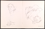 [Catalog for Eleanor Dickinson: line drawing exhibition pages 6]