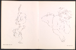 [Catalog for Eleanor Dickinson: line drawing exhibition pages 7]