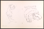 [Catalog for Eleanor Dickinson: line drawing exhibition pages 9]