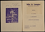 [Program for Ballet de Camaguey 1]