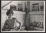 Lois Dodd in her Maine Studio in Cushing