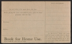 [Arthur McKean research notes on sales provenance of The fox hunt by Winslow Homer verso 1]