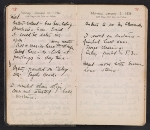 [Helen Torr Dove and Arthur Dove diary pages 8]