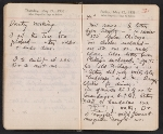 [Helen Torr Dove and Arthur Dove diary pages 73]