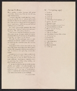 [An American Place catalog for Arthur G. Dove, new oils and water colors exhibition 1]