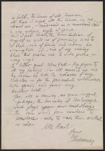 [Oscar Bluemner letter to Arthur Garfield Dove 1]