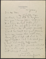 A letter from Edward Alden Jewell to Arthur Dove