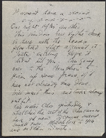 [Arthur Garfield Dove letter to Helen Torr Dove page 2]