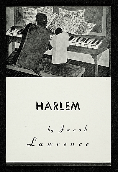 Harlem by Jacob Lawrence