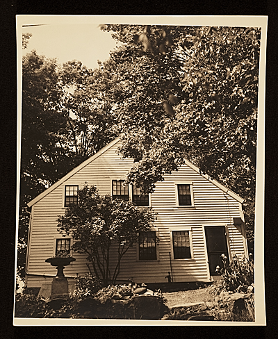 [Edith Gregor Halpert's summer home in Newtown, Conn.]