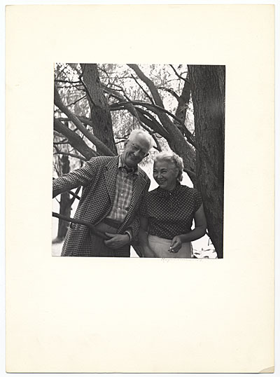 [Edith Halpert and Charles Sheeler]