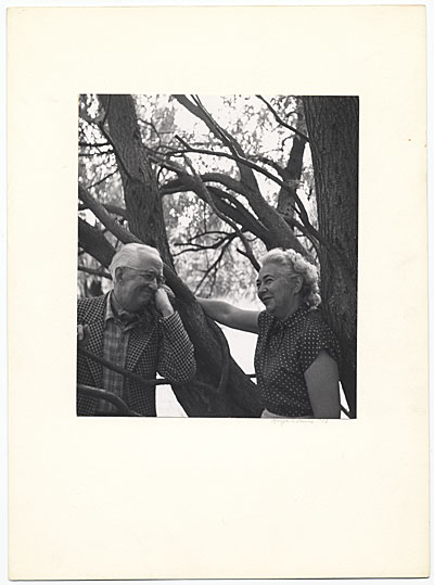 Edith Halpert and Charles Sheeler