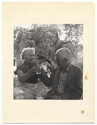 Charles Sheeler and Edith Halpert