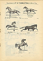 [Catalogue of weather vanes manufactured by L.W. Cushing and Sons page 10]