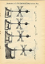 [Catalogue of weather vanes manufactured by L.W. Cushing and Sons page 12]