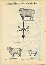 [Catalogue of weather vanes manufactured by L.W. Cushing and Sons page 13]