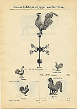 [Catalogue of weather vanes manufactured by L.W. Cushing and Sons page 15]