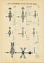 [Catalogue of weather vanes manufactured by L.W. Cushing and Sons page 17]