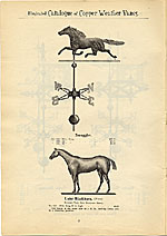 [Catalogue of weather vanes manufactured by L.W. Cushing and Sons page 7]