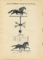 [Catalogue of weather vanes manufactured by L.W. Cushing and Sons page 9]