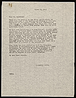 Edith Gregor Halpert letter to Jacob Lawrence