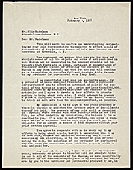 Downtown Gallery (New York, N.Y.) letter to Elie Nadelman, New York, N.Y.