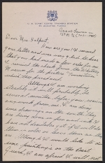 Jacob Lawrence letter to Edith Gregor Halpert