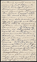 [Alexander Doyle letter to Fanibelle B. Johnson 1]