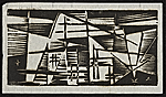 Werner Drewes abstract geometric print