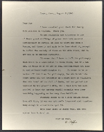Edward Hopper letter to Guy Pène Du Bois