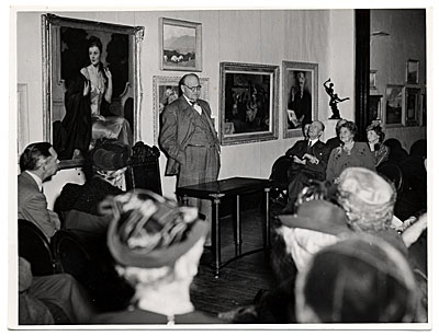 [Frank DuMond at the National Arts Club]