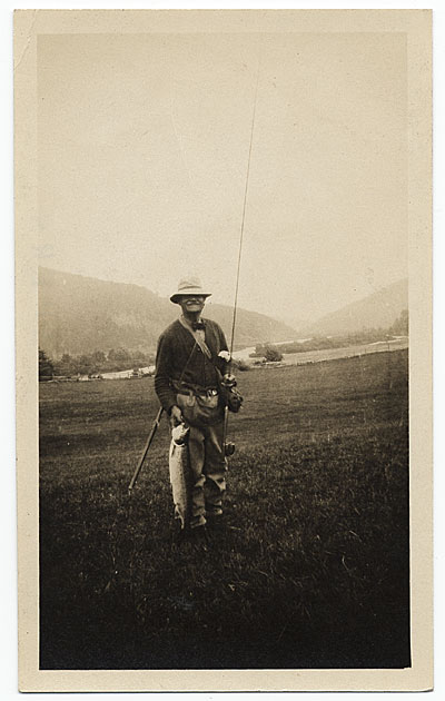 [Frank DuMond after fishing]