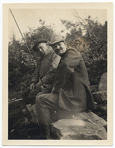 [Frank DuMond and Willard Metcalf in Newfoundland]