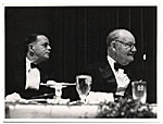 [Frank DuMond at anniversary dinner ]