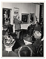 Frank DuMond at the National Arts Club