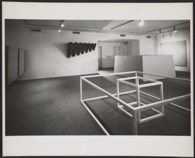Installation view of the 10 exhibition in New York