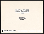 [Martial Raysse exhibition catalog Mirrors and Portraits for Dwan Gallery, Los Angeles, Calif. 4]