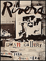 Dwan Gallery announcement for Larry Rivers exhibition