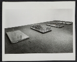 Installation view of Bed of spikes by Walter De Maria