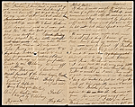 Thomas Eakins letter to