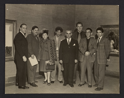 Philip Evergood, Irene Rice Pereira, Abraham Rattner, Nicolai Cikovsky, Yasuo Kuniyoshi, and others