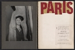 [Claire Falkenstein scrapbook of her exhibition at the Galerie Stadler pages 1]